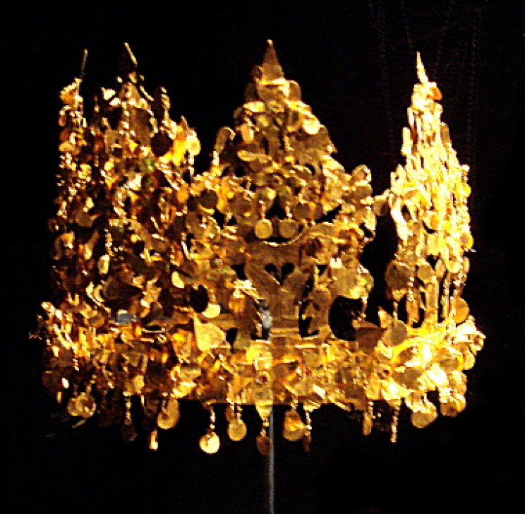 Bactrian Gold crown