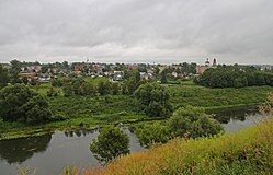 Mtsensk view on Zusha River and the town.jpg