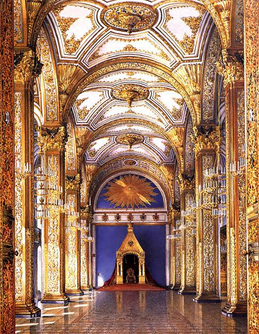 The Hallway of the Order of Saint Andrew in the Grand Kremlin Palace