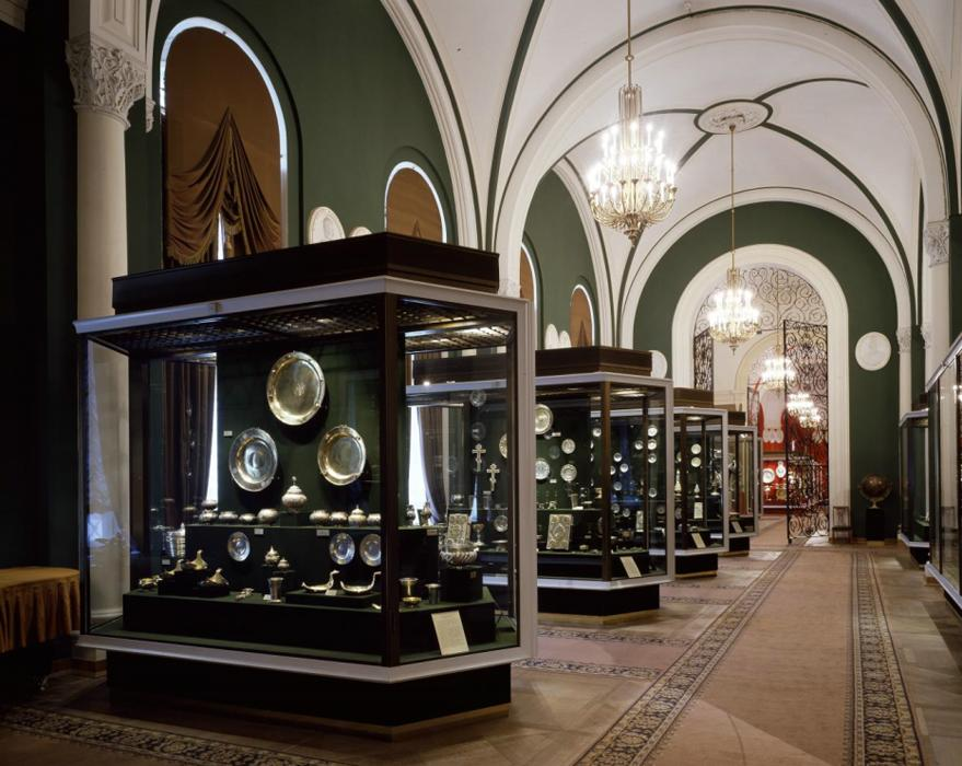 Interior of the Armory - Exhibit - Moscow Kremlin