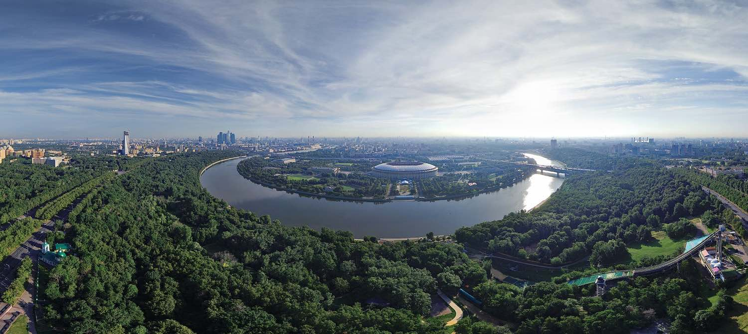 Sparrow Hills Moscow Russia - Panoramic views
