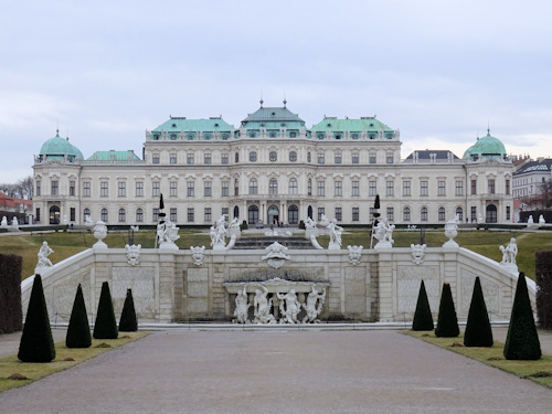 Upper Belvedere palace and art gallery